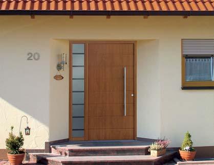 установка деревянных входных дверей