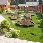 Планировка сада и его обустройство своими руками